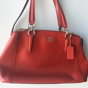 Coach Christie Carryall Satchel Crossbody Bag